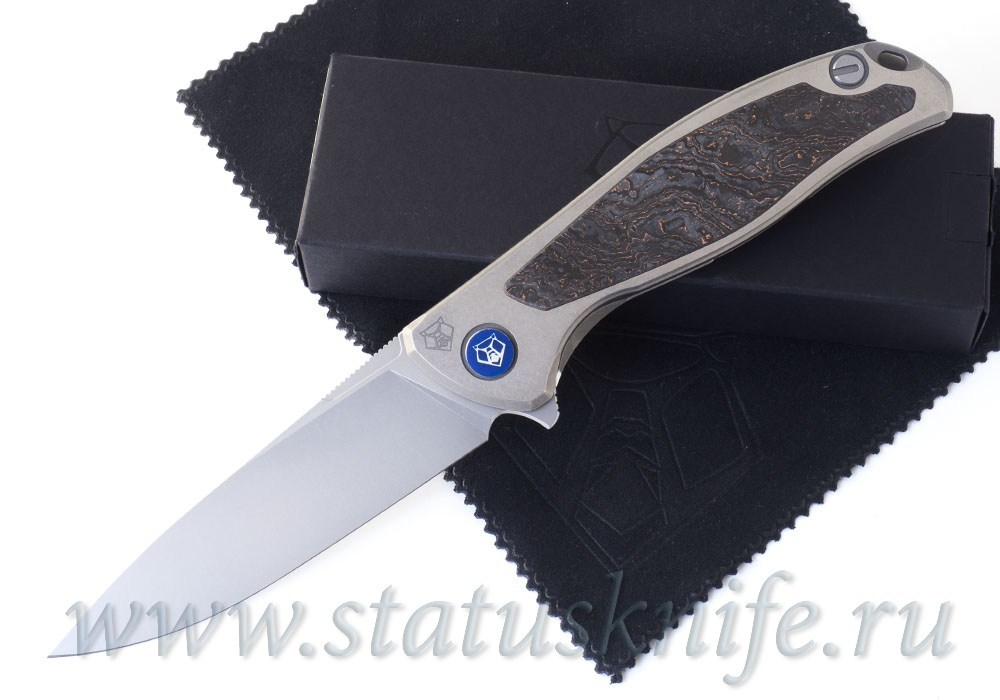 Нож Широгоров Флиппер 95 NL Bronze M390