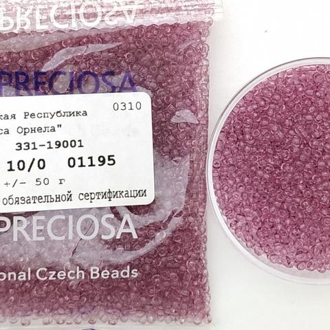 01195 Preciosa 10/0 50грамм (1 сорт)