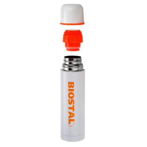 Термос Biostal Flër (0,75 литра), белый