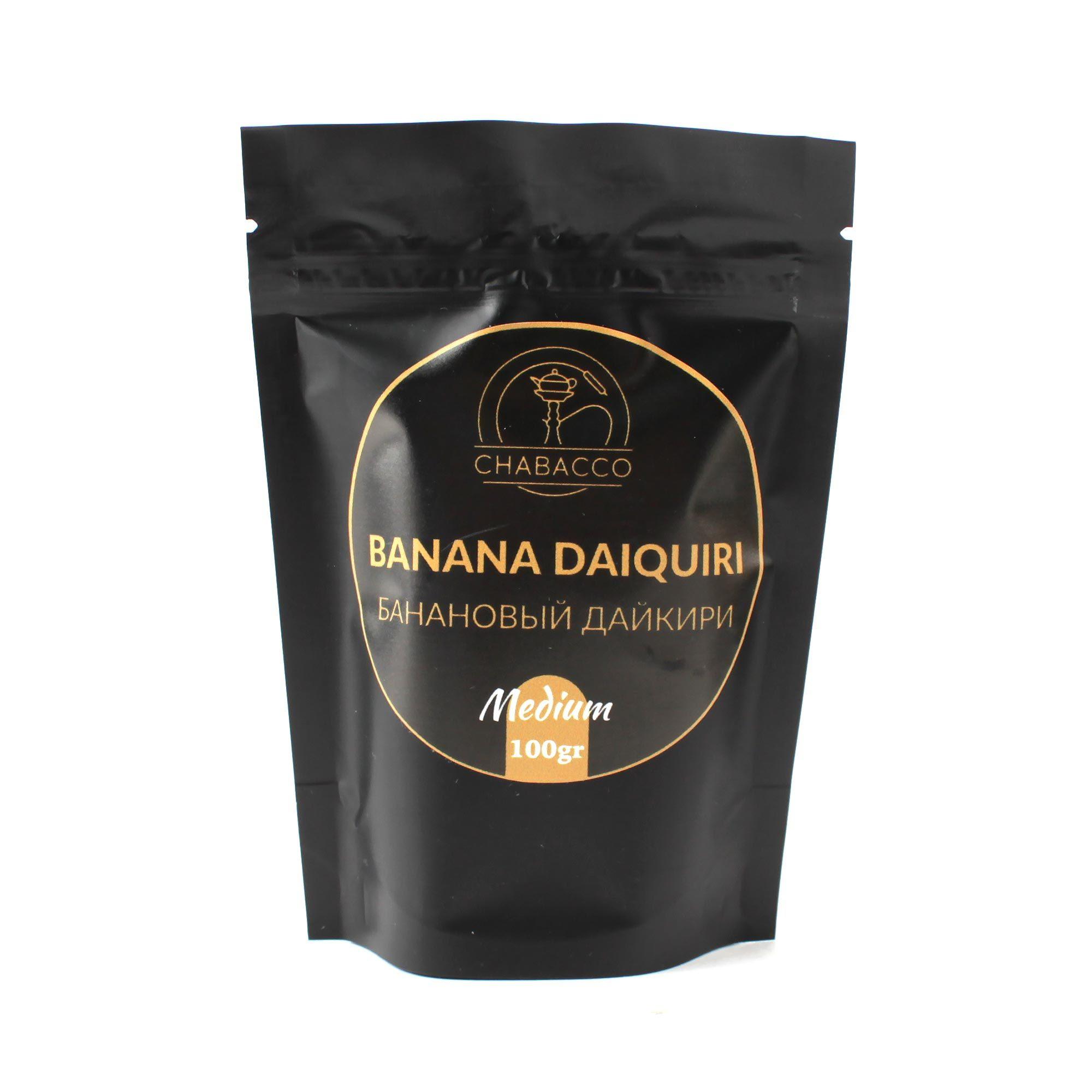 Кальянная смесь Chabacco Medium 100 гр Banana Daiquiri
