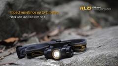 Налобный фонарь Fenix HL23 150 лм AA серебристый