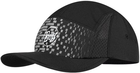 Спортивная кепка для бега женская Buff Run Cap R-Natron Grey фото 1