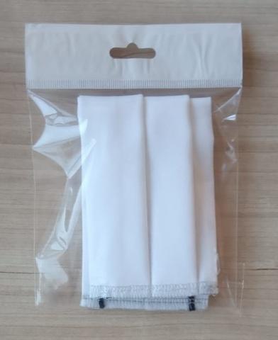 Маска для лица защитная повязка тканевая 3-слойная многоразовая 100% хлопок