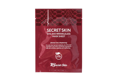 Хиты продаж Маска тканевая для лица Secret Skin -лифтинг с пептидами змеиного яда SYN-AKE WRINKLELESS MASK SHEET 20 мл large_сс_маска_зм_пептид.jpg