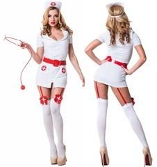 Ролевой костюм Раскованного Доктора (белый)