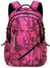 Рюкзак RUISHISABER 1949-17 USB Розовый-камуфляж