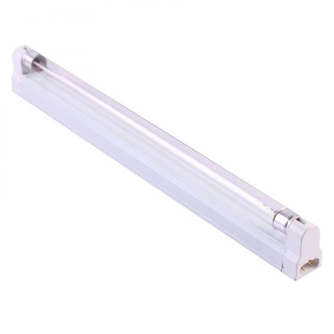 UGL-S02A-15W/UVCB WHITE Светильник ультрафиолетовый бактерицидный с лампой Т8. Накладной. Без озонирования, 253,7 нм. Корпус белый. ТМ Uniel