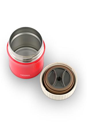 Термос для еды Thermos JBI-380 (0,38 литра), красный