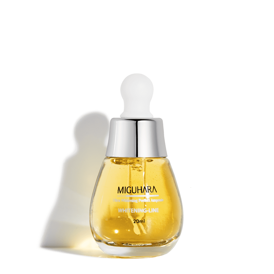 MIGUHARA осветляющая сыворотка Ultra Whitening Perfect Ampoule, 20 мл.