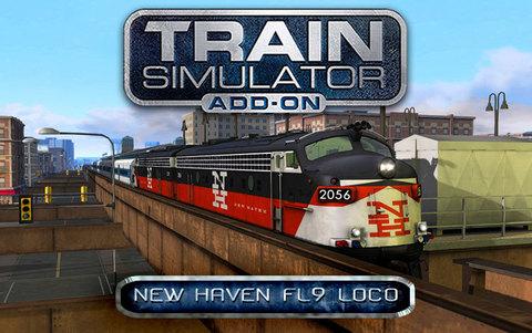 Train Simulator: New Haven FL9 Loco Add-On (для ПК, цифровой ключ)