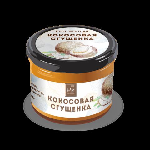 Кокосовая сгущёнка Polezium, без сахара