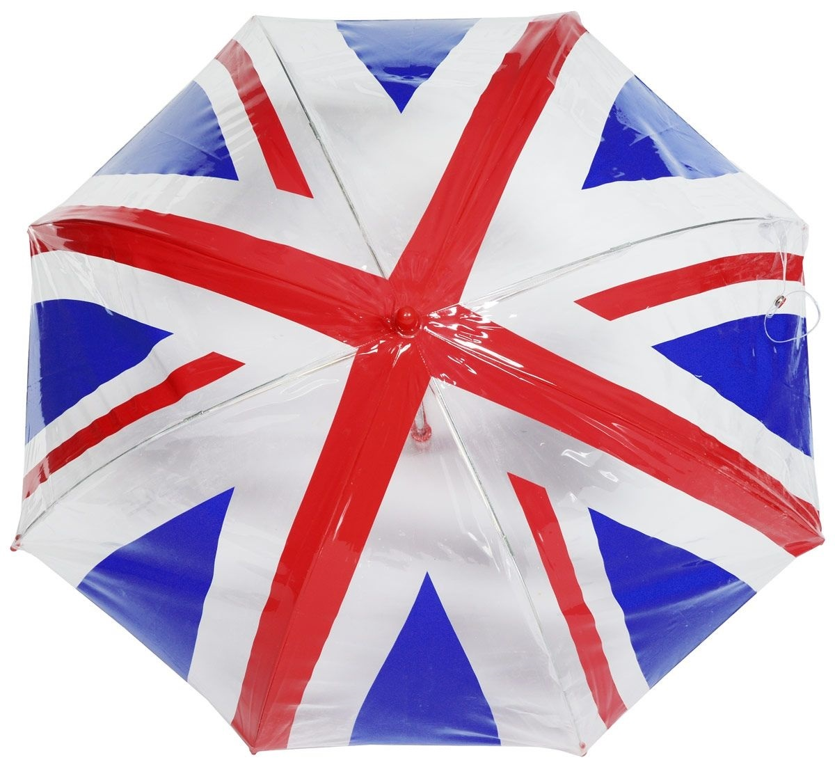 Fulton Union Jack Прозрачный зонт-трость детский