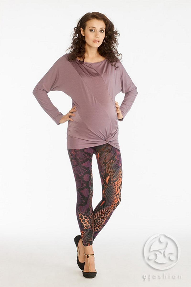 Блузка для беременных 01107 вересковый