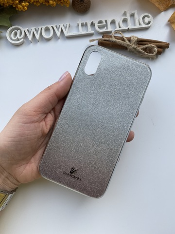 Чехол iPhone  XS Max Swarovski Case /black/