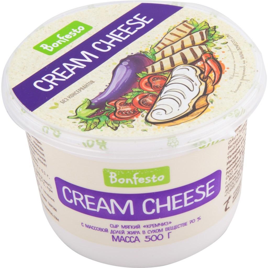 Кремчиз Cream Cheese Bonfesto, 500г.