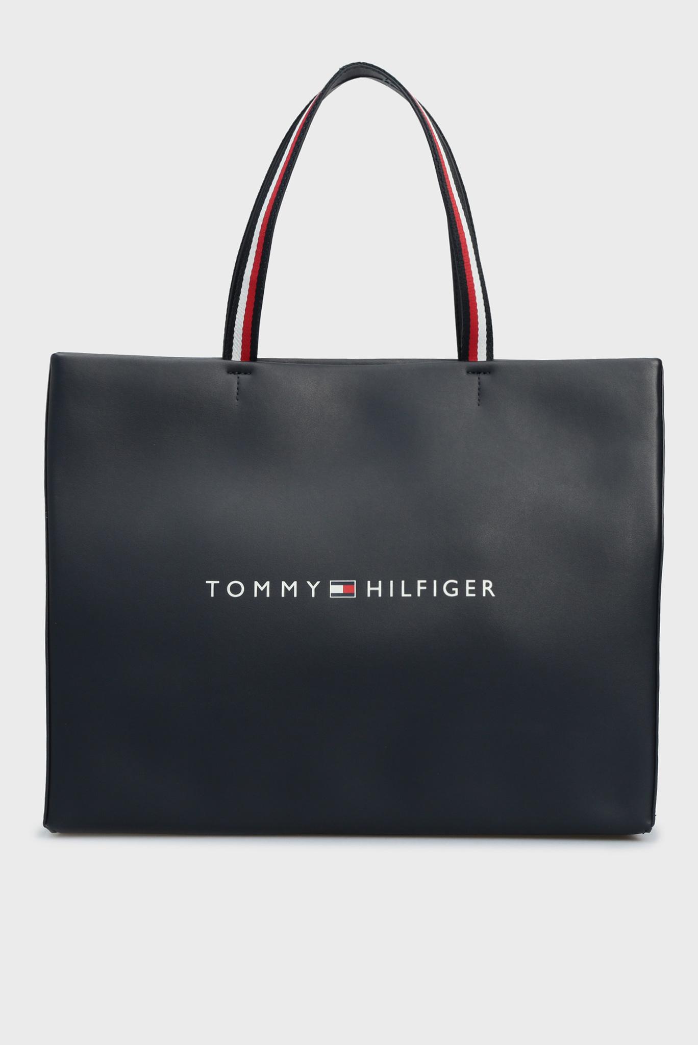 Женская темно-синяя сумка TOMMY Tommy Hilfiger