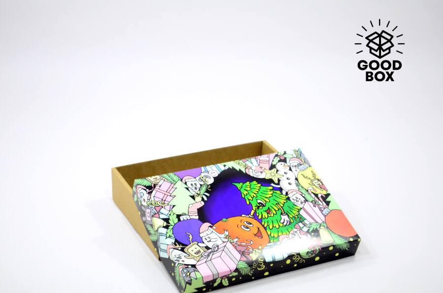 Уникальные новогодние коробки купить в Казахстане
