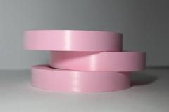 Лента простая гладкая без тиснения (2см*50м) Ярко-розовая