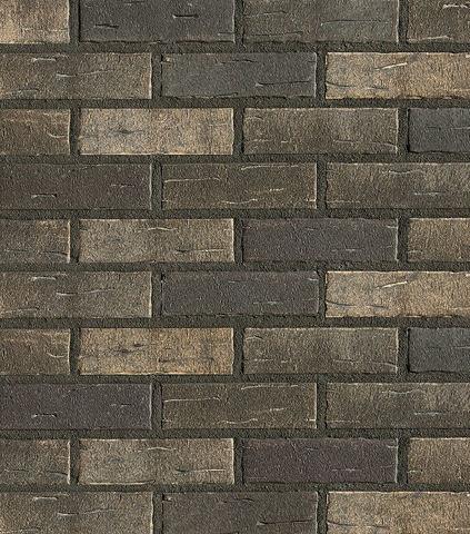 Roben - Aarhus, silberschwarz, NF14, 240x14x71 - Клинкерная плитка для фасада и внутренней отделки