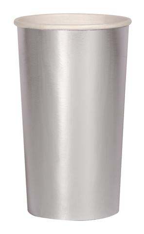 Стаканы серебряные
