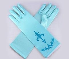FROZEN перчатки Эльзы из Холодного сердца (темно-голубые)