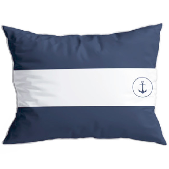 Santorini cushion set / flags / blue