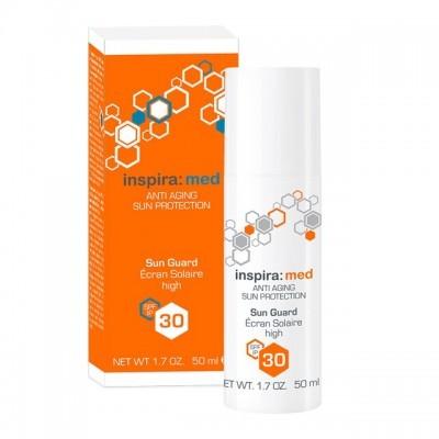 INSPIRA Sun Line: Солнцезащитная эмульсия для лица и тела SPF30 (Sun Guard SPF30), 50мл/150мл