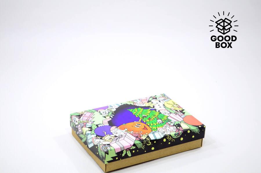 Эксклюзивные Новогодние коробки купить в Казахстане