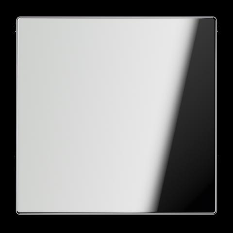 Выключатель одноклавишный. 10 A / 250 B ~. Цвет Хром. JUNG LS. 501U+GCR2990