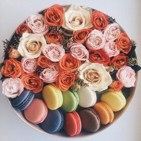 Макаруни & цветы#20031