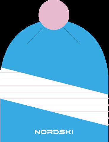 Шапка Nordski Line Azure