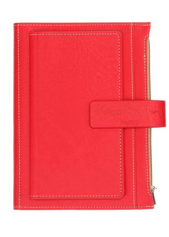 Записная книжка Pierre Cardin  (PC190-F04-3) красная в обложке 215х155х35 см