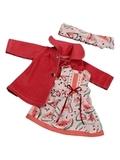 Пальто и платье - Розовый 1. Одежда для кукол, пупсов и мягких игрушек.