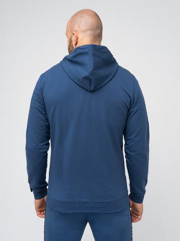 Спортивный костюм «Мастер» цвета синего денима