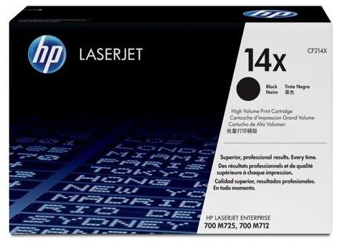 Оригинальный картридж HP CF214X 14X черный
