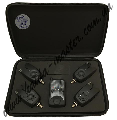 Набор электронных сигнализаторов поклевки KDYL 4+1