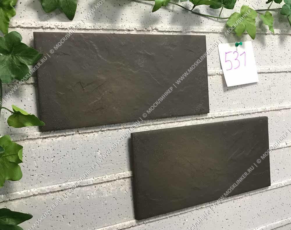 Paradyz - Semir Grafit - Цокольная клинкерная плитка, структурная, 30х14,8