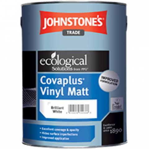 JOHNSTONE'S COVAPLUS VINYL MATT/ДЖОНСТОУНС Водоэмульсионная краска для внутренних работ
