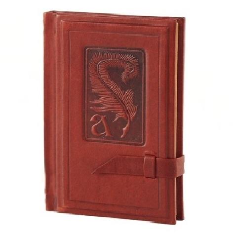 Записная книжка с алфавитом | Аристотель | Коричневый