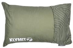 Подушка надувная Klymit Drift Camp Pillow Regular зеленая 12DRGR01C