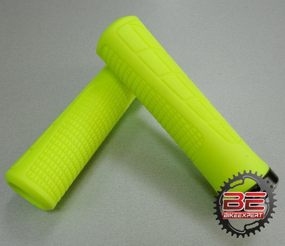 Грипсы GreenCycle GG-R418 желтые