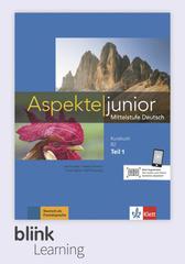 Aspekte junior B2.1, Kursbuch DA fuer Unterrich...