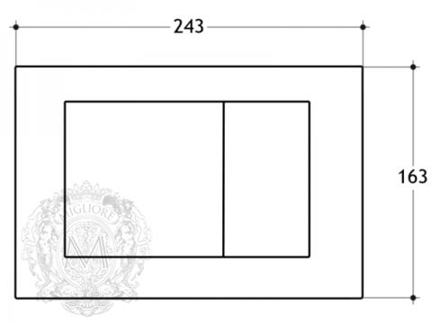 Клавиша смыва Migliore ML.PLC-27.051 схема