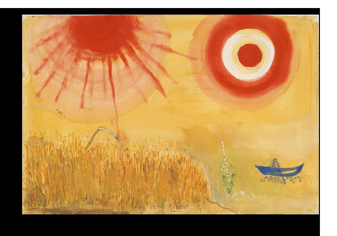 """Марк Шагал Репродукция """"Шагал - Пшеничное поле"""" Х92.png"""