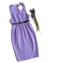 Платье-футляр (Лаванда)
