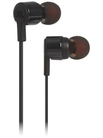JBL / Проводные наушники с микрофоном T210 | черный