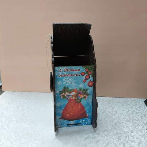 Новогодняя подарочная коробка №3