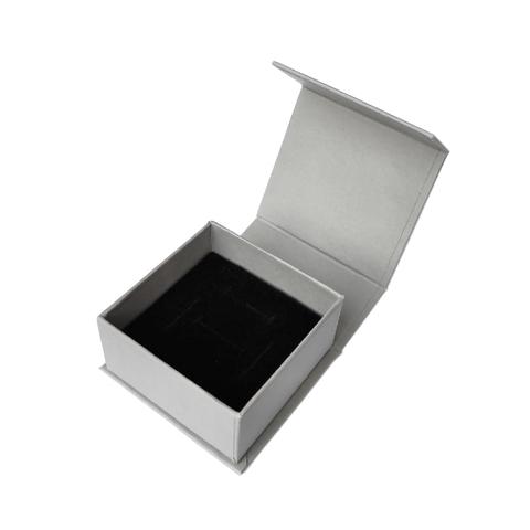 Коробка серая, с магнитным закрыванием