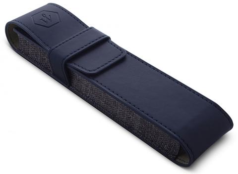 Подарочный набор Waterman Expert с шариковой ручкой и чехлом Black CT, толщина линии M, чернила синие123