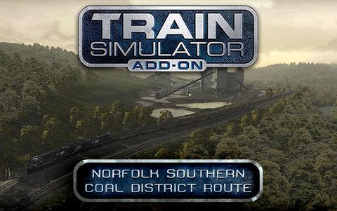 Train Simulator: Norfolk Southern Coal District Route Add-On (для ПК, цифровой ключ)